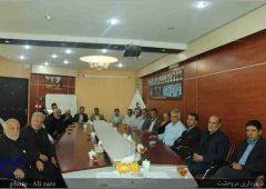 دیدار جمعی از بسیجیان و پیشکسوتان  شهرستان با شهردار مرودشت