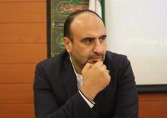 حکم شهردار رفسنجان به مهندس محمدرضا عظیمی زاده تقدیم شد