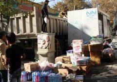 ارسال کمک های خودجوش شهروندان منطقه ۶ به کرمانشاه