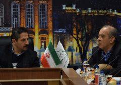 پیگیری همکاریهای شهرداری تبریز و بانک شهر در حوزههای عمران، حملونقل و خدمات عمومی