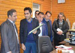 بازدید مدیر کل دفتر امور شهری و شوراهای استانداری مازندران از روند اجرایی سیستم یکپارچه سازی واحدهای شهرداری رامسر