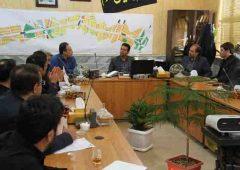 جلسه کمیسیون فنی و عمرانی شورای اسلامی شهر در منطقه دو قم برگزار شد