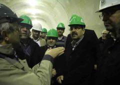 بازدید معاون شهردار تهران از روند اجرای طرح تونل و بزرگراه شهید شوشتری در منطقه ۱۳