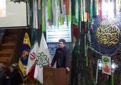 """سومین سالگرد شهادت """"شهید تقی ارغوانی"""" در مسجد امام حسین(ع) منطقه۲۱"""