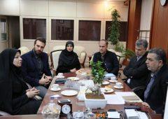 دیدار شهردار منطقه ۷ با رئیس مرکز بهداشت شمال تهران