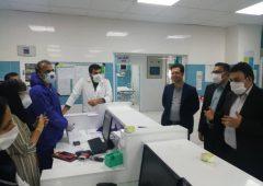 حضور معاونین فرمانداری ویژه لارستان در مرکز آموزشی درمانی امام رضا (ع)