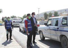 طرح غربالگری و تب سنجی با مدیریت شهرداری و به طور شبانه روزی در ورودی شهر لار در حال اجراست