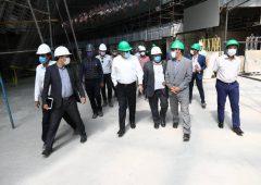 وزارت امور خارجه باید برای بهرهبرداری پروژه مرکز همایش های بین المللی اصفهان کمک کند
