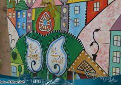 اجرای نقاشی های گرافیکی چشم نواز بر جداره معابر منطقه ۷