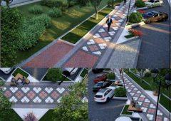 پروژه ترافیکی و زیباسازی شهرداری رفسنجان در بلوار شهید مدرس اجرا می شود.