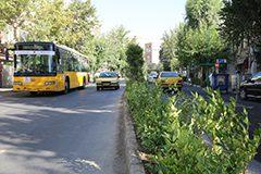 بهسازی و بازپیرایی خیابان مجاهدین اسلام در قلب طهران