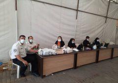 آغاز به کار مرکز واکسیناسیون خودرویی غرب پایتخت در منطقه ۲۱