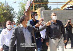 بازدید  رشیدی نماینده مردم مرودشت، ارسنجان و پاسارگاداز سازمان آتشنشانی شهرداری مرودشت