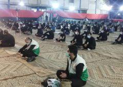 خادمیاران لارستانی در سوگ رحلت پیامبر اکرم (ص)