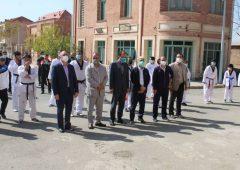 برنامه فرامنطقه ای دوشنبه های ورزشی در شهرک سینمایی غزالی  این منطقه برگزار شد